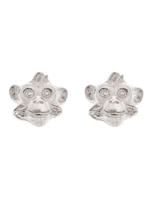 Simon Harrison Jewellery- Zodiac East Monkey Earrings