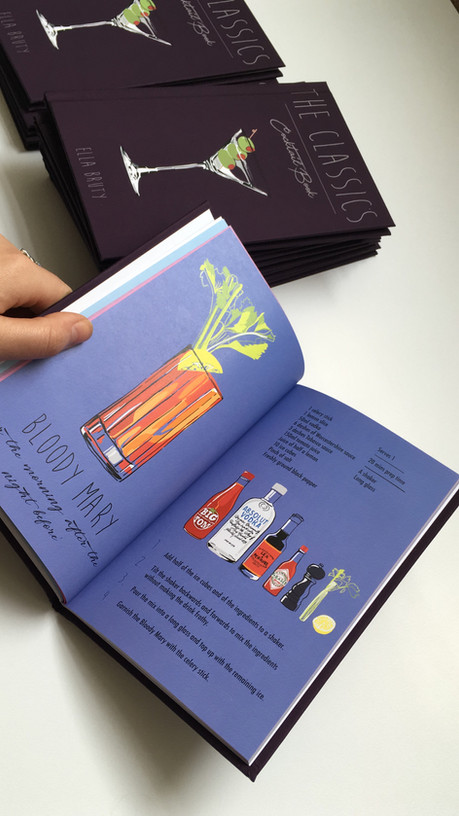 Illustrated Cocktail Book