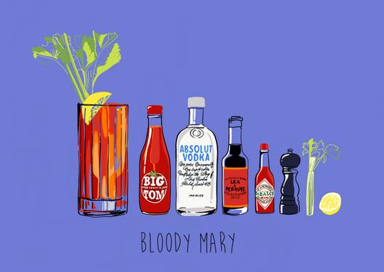 Digital - Bloody Mary Ingredients
