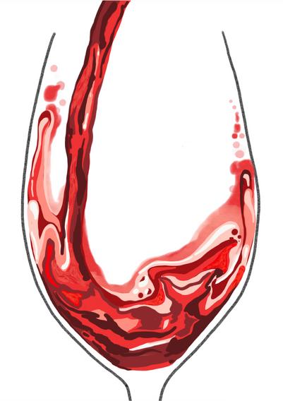 Digital - Red Wine