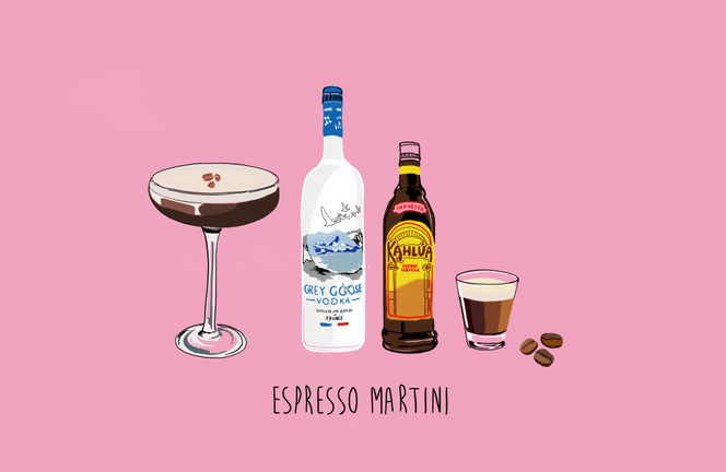 Digital - Espresso Martini Ingredients