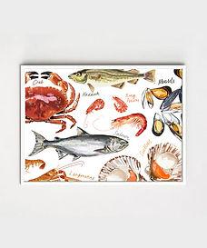 Seafood Print