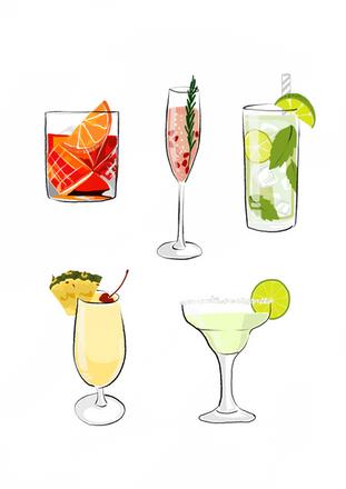 Digital - Cocktails