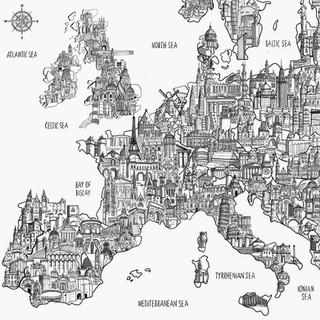 Roger Walker Travel Map
