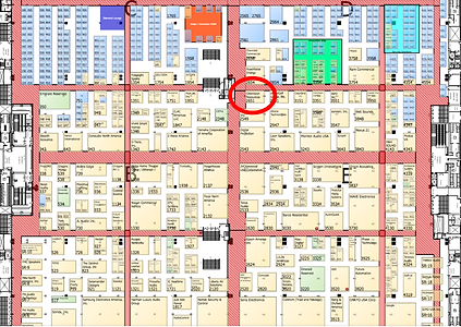 CEDIA 2019 Booth Location