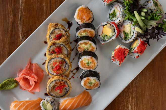 Combinaison 18 mcx de sushi