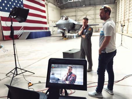 Aasen Film på Luke Air Force Base med Insider