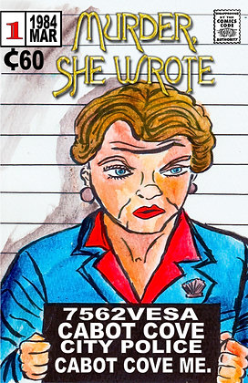 Murder she wrote parody cover