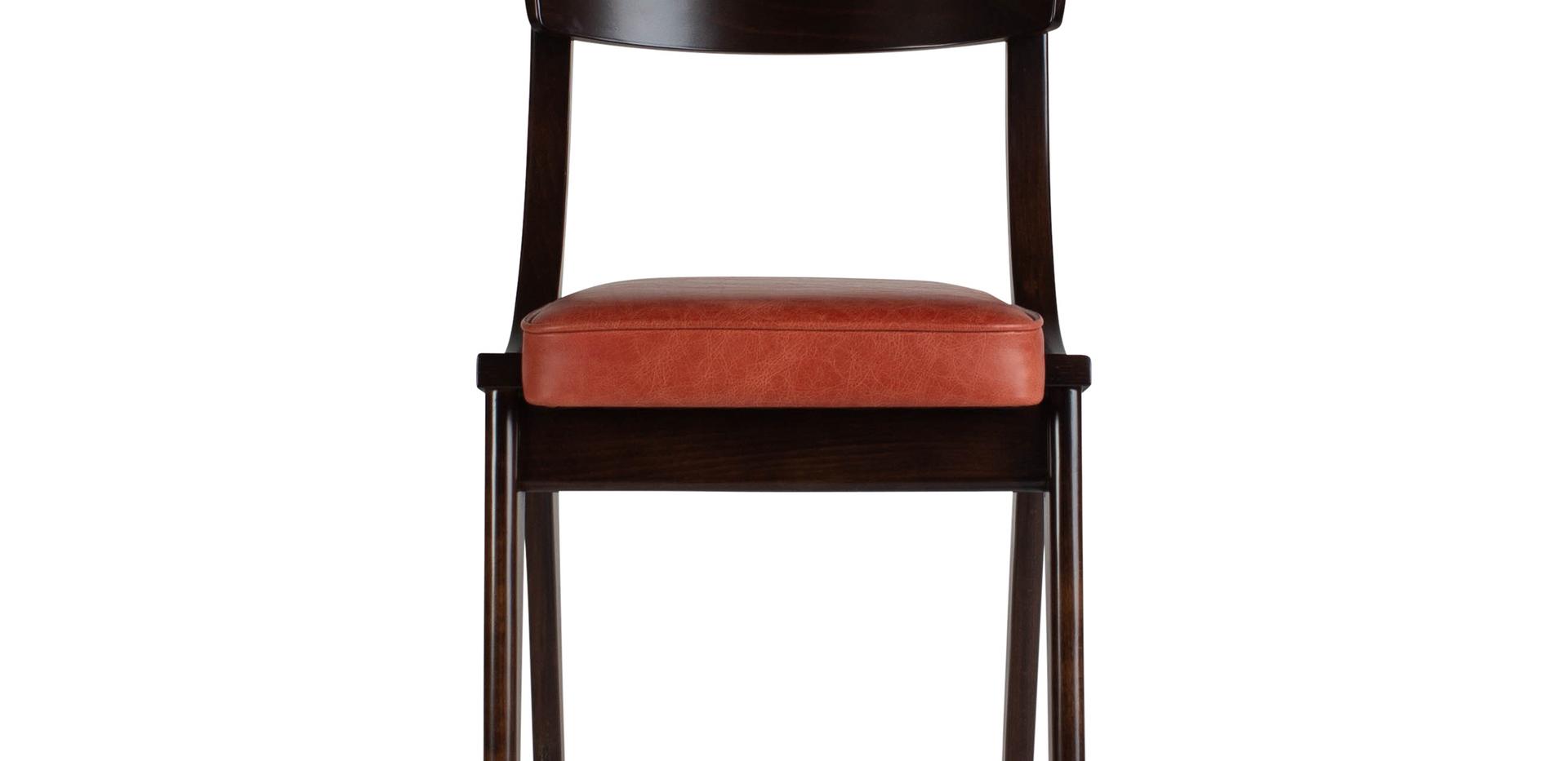 Verwood Orange Chair Front