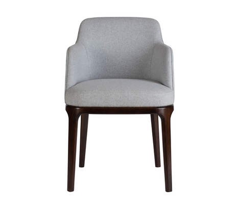 Edgeware Armchair Grey Front
