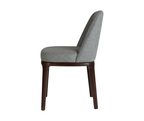 Edgeware Chair Grey Side