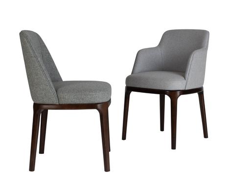 Edgeware Chair Grey Jaunty
