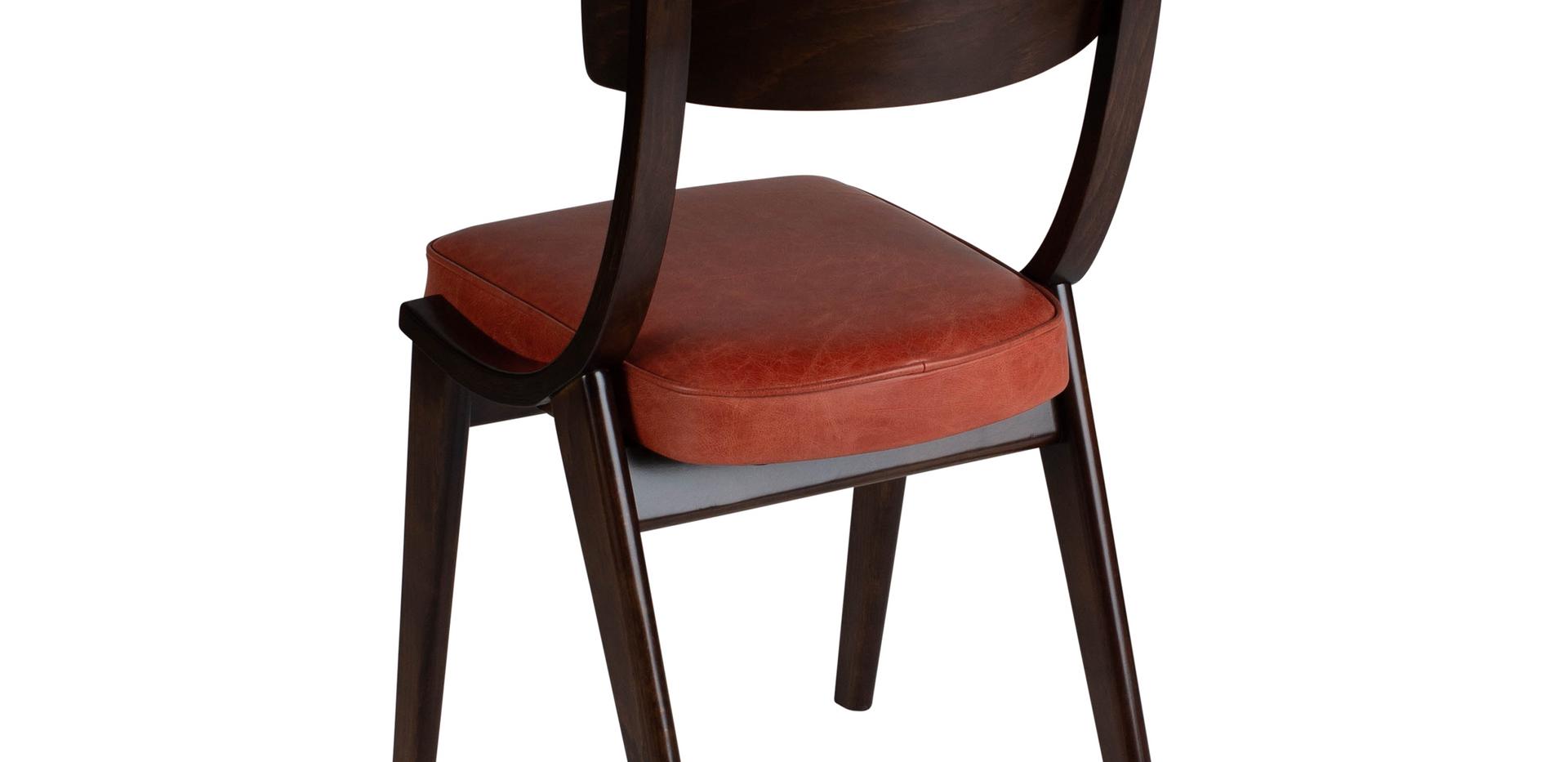 Verwood Orange Chair 45 Back