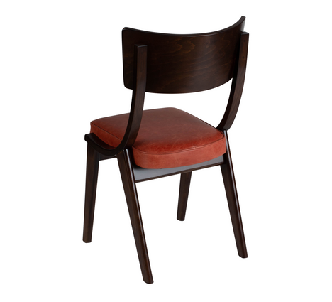 Verwood Orange Chair 45 Back