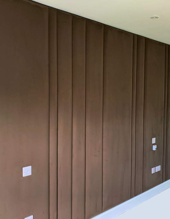 Full Panelled Wall