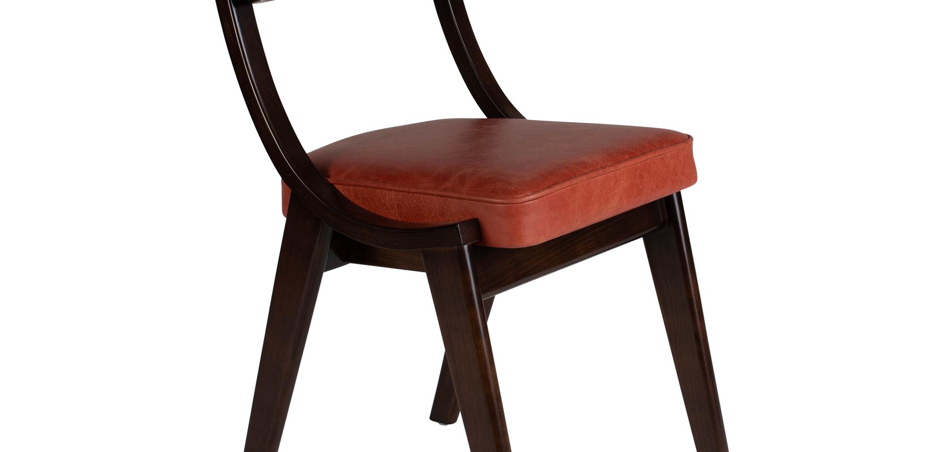Verwood Orange Pad Chair 45