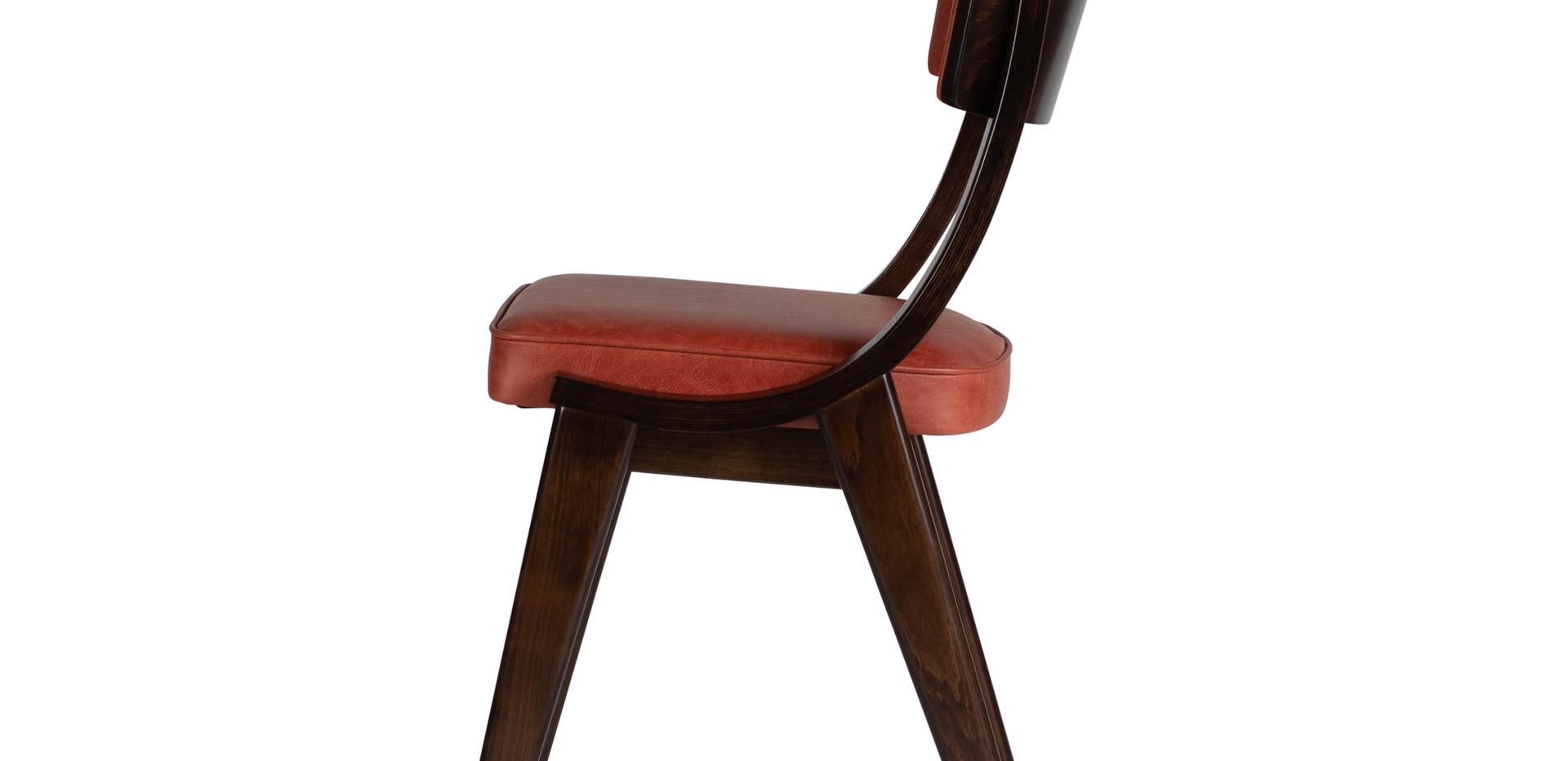 Verwood Orange Pad Chair Side