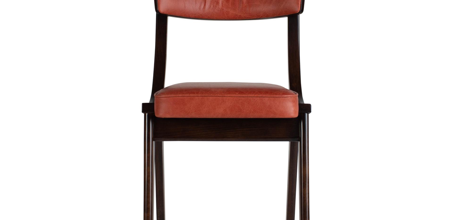 Verwood Orange Pad Chair Front