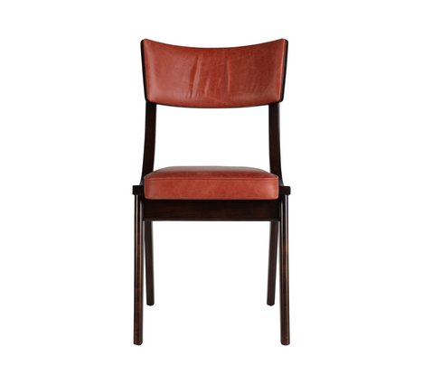 Verwood Orange Pad Chair Front