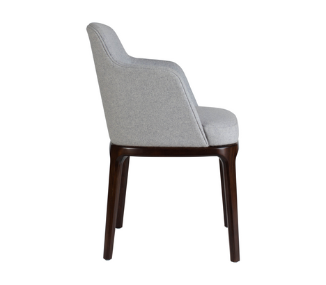 Edgeware Armchair Grey Side