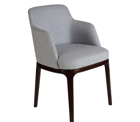 Edgeware Armchair Grey 45