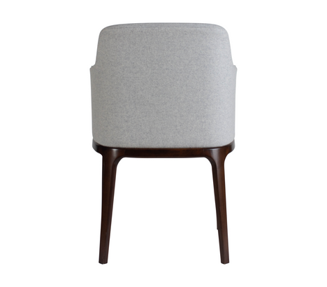Edgeware Armchair Grey Back
