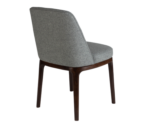 Edgeware Chair Grey 45 Back