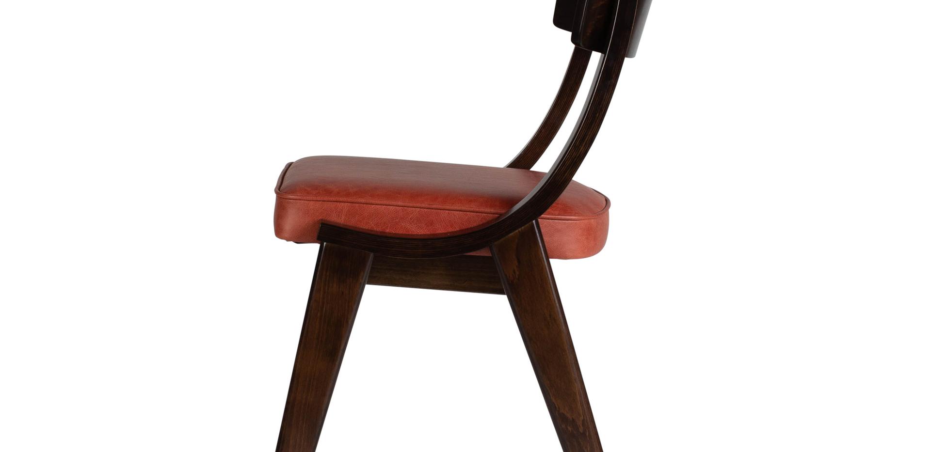 Verwood Orange Chair Side