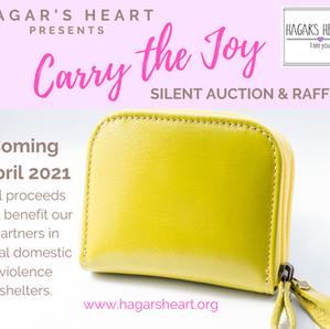 CARRY THE JOY Silent Auction and Raffle Fundraiser