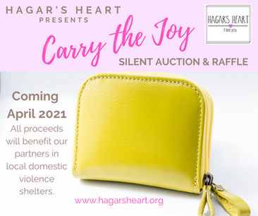 2021 CARRY THE JOY Silent Auction and Raffle