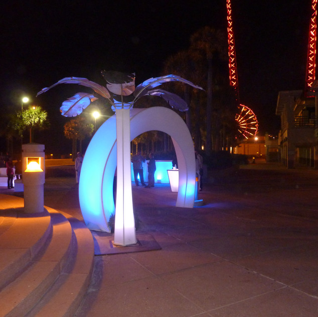 Outdoor Event Entrance