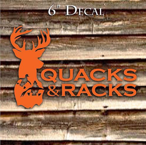 copy of 6in Logo Decal - Orange