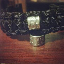 Custom Survival Bracelets