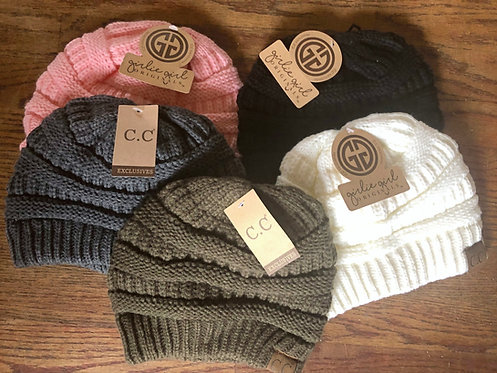Original CC Beanies: Solids