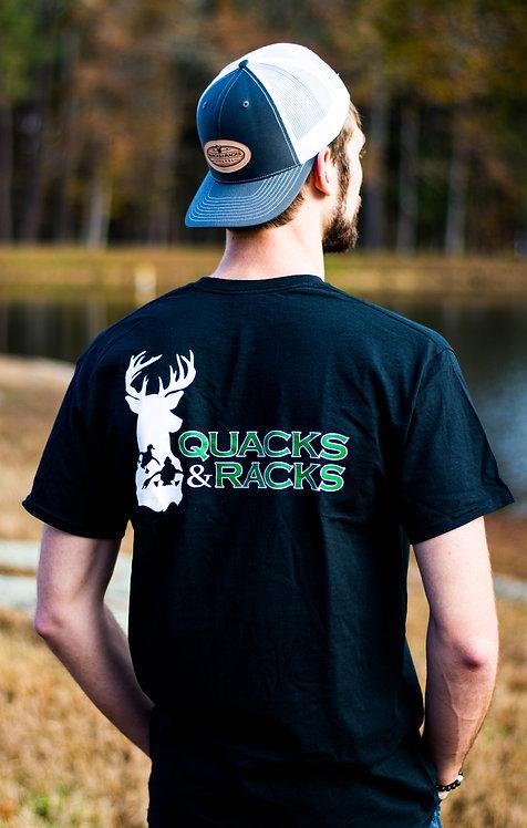 Original Logo Quacks & Racks Logo Tee