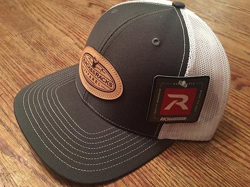 Richardson Snapback Caps with Quacks & Racks Apparel Leather Patch