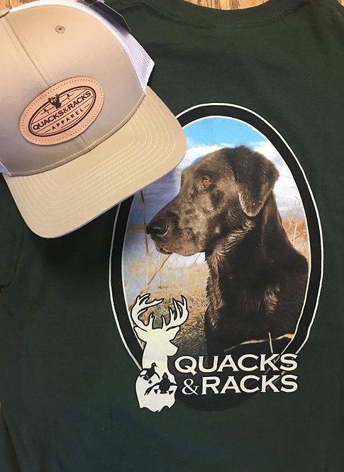 """Quacks & Racks """"Jet"""" Lab T-Shirts"""