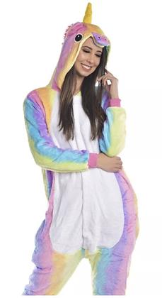 Pijama Unicornio Arcoiris Adulto