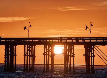Another Sunset At Ventura Pier!