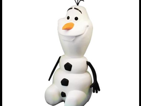 Frozen 2: Olaf, o boneco de neve, vira balde de pipoca