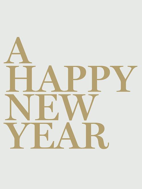 Postkarte #03802 a happy new year