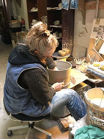 Marianne Vandenbussche at work