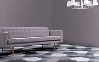 Shapes carpet tiles