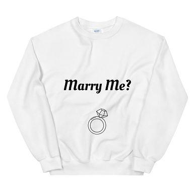 Marry Me? - Unisex Sweatshirt