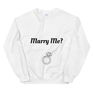 Marry Me? - Unisex Sweatshirt