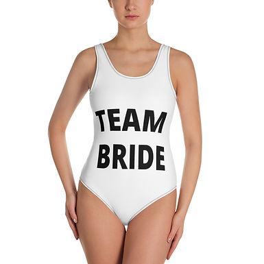 TEAM BRIDE - One-Piece Swimsuit