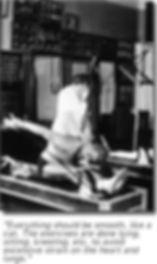 Joseph Pilates stretching