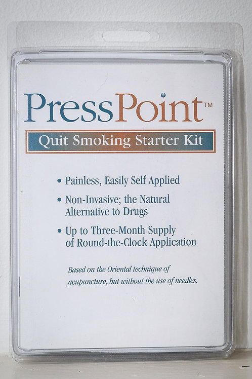 PressPoint™ - Quit Smoking Starter Kit