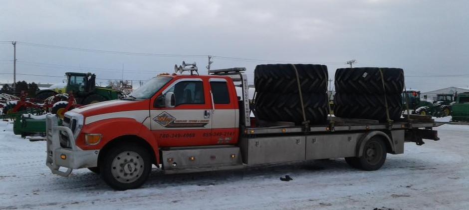 Hauling Tires