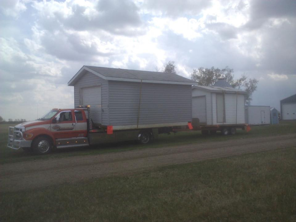 Shed Hauling